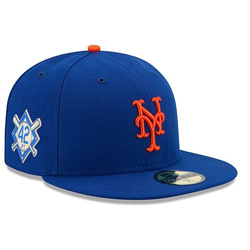 Men's New Era Royal New York Mets Jackie Robinson Day 59FIFTY Fitted Hat