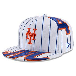 Men's New Era Noah Syndergaard White New York Mets Player Authentic Jersey V1 9FIFTY Snapback Adjustable Hat