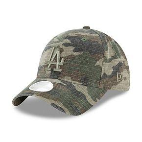 Women's New Era Camo Los Angeles Dodgers Tonal Core Classic 9TWENTY Adjustable Hat