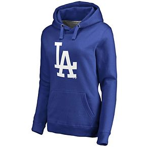 Women's Fanatics Branded Royal Los Angeles Dodgers Primary Logo Pullover Hoodie