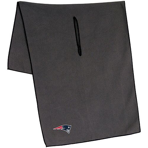 "New England Patriots 19"" x 41"" Gray Microfiber Towel"