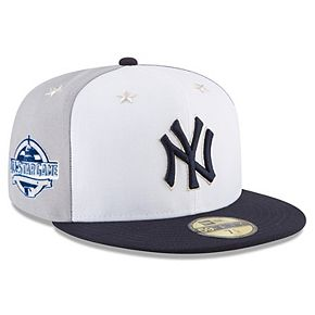Men's New Era White/Navy New York Yankees 2018 MLB All-Star Game On-Field 59FIFTY Fitted Hat