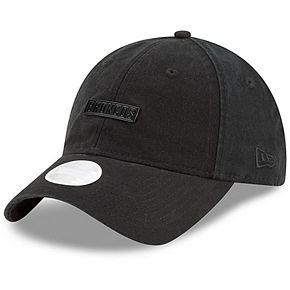 Women's New Era Black Denver Broncos Team Labeled 9TWENTY Adjustable Hat
