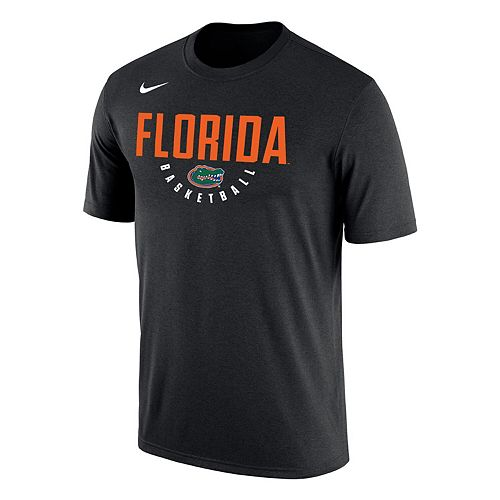 Men's Nike Black Florida Gators Basketball School Name Performance T-Shirt