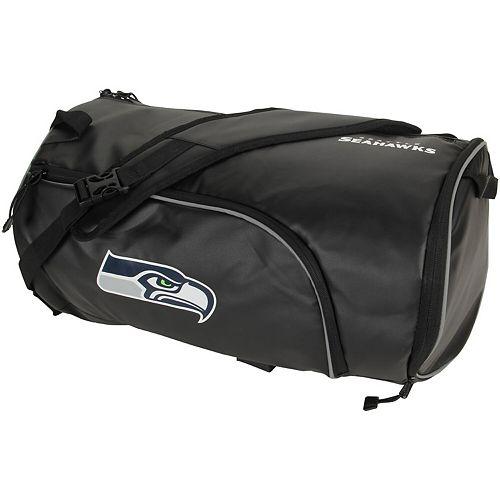 The Northwest Company Black Seattle Seahawks Squadron Duffel Bag