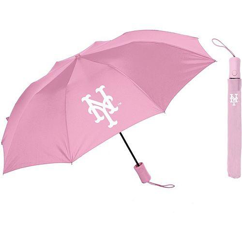 """New York Mets 42"""" Deluxe Folding Umbrella"""