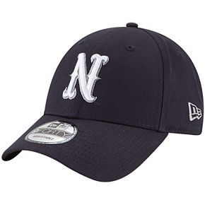 Men's New Era Navy Nevada Wolf Pack The League 9FORTY Adjustable Hat