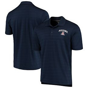 Men's Champion Navy Arizona Wildcats Textured Polo