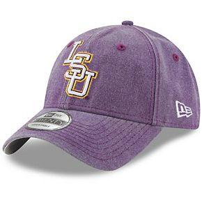 Men's New Era Purple LSU Tigers Rugged Heather 9TWENTY Adjustable Hat