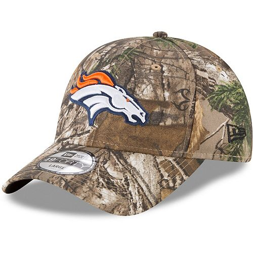 Men's New Era Realtree Camo Denver Broncos Realtree 49FORTY Fitted Hat