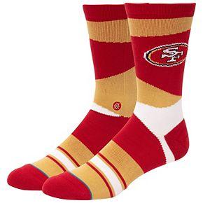 Men's Stance San Francisco 49ers Retro Crew Socks