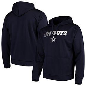 Men's Navy Dallas Cowboys Aristo Pullover Hoodie