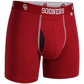 Men's 2UNDR Crimson Oklahoma Sooners Swing Shift Boxer Shorts