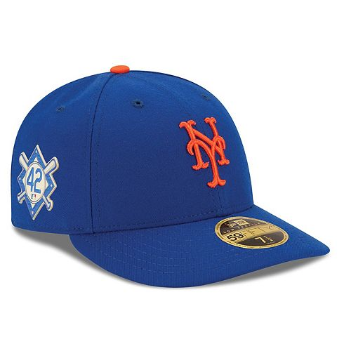 Men's New Era Royal New York Mets Jackie Robinson Day Low Profile 59FIFTY Fitted Hat