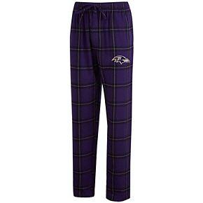 Men's Concepts Sport Purple/Black Baltimore Ravens Big & Tall Homestretch Flannel Pants