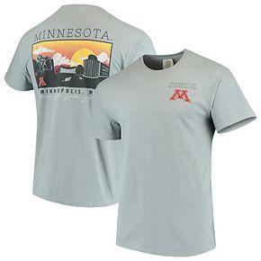 Men's Gray Minnesota Golden Gophers Team Comfort Colors Campus Scenery T-Shirt