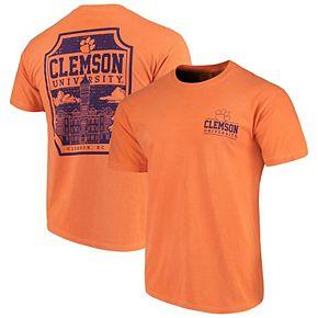 Men's Orange Clemson Tigers Comfort Colors Campus Icon T-Shirt