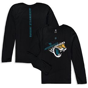 Youth Black Jacksonville Jaguars Flux Ultra Long Sleeve T-Shirt