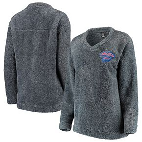 Women's Concepts Sport Charcoal Buffalo Bills Trifecta Pullover Sweatshirt