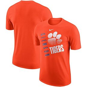Men's Nike Orange Clemson Tigers Performance Cotton Just Do It T-Shirt