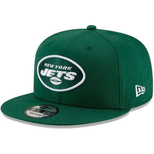 New York Jets New Era NFL Basic 9FIFTY Adjustable Snapback Hat - Green