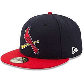 Youth New Era Navy/Red St. Louis Cardinals Authentic Collection On-Field Alternate 59FIFTY Fitted Hat