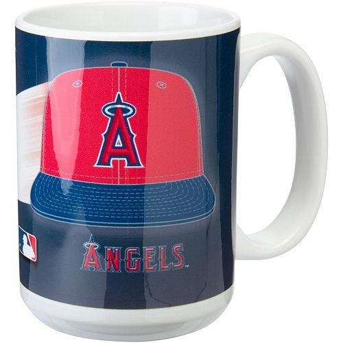 Los Angeles Angels 15oz. Team 3D Graphic Mug