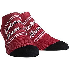 Women's Alabama Crimson Tide Mom Low Cut Socks