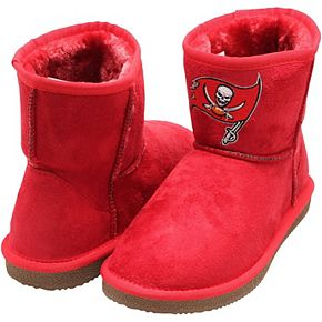Women's Cuce Red Tampa Bay Buccaneers The Rookie Mini Boots