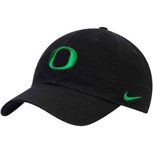 Men's Nike Black Oregon Ducks Heritage 86 Adjustable Performance Hat