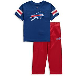Toddler Royal/Red Buffalo Bills Training Camp Pants & T-Shirt Set