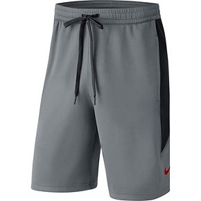 Men's Nike Gray Ohio State Buckeyes Showtime Performance Shorts
