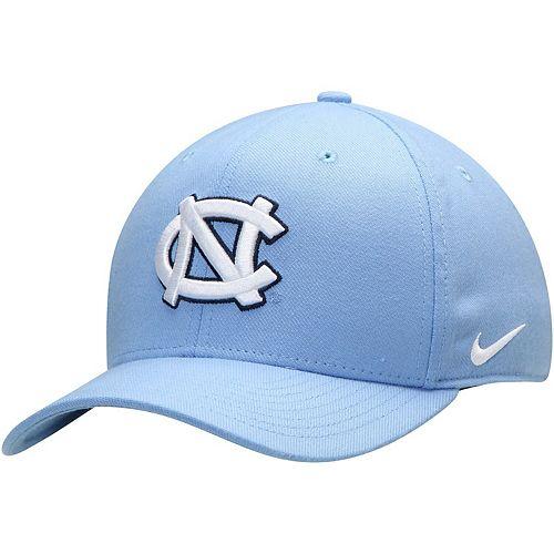 Men's Nike Carolina Blue North Carolina Tar Heels Classic Logo 99 Swoosh Performance Flex Hat