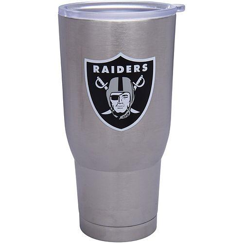 Oakland Raiders 32oz. Stainless Steel Keeper Tumbler