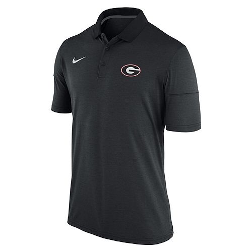 Men's Nike Anthracite Georgia Bulldogs Collegiate Dry Polo