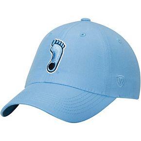 Men's Top of the World Carolina Blue North Carolina Tar Heels Staple Adjustable Hat