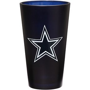 Dallas Cowboys 16 oz. Team Color Frosted Pint Glass