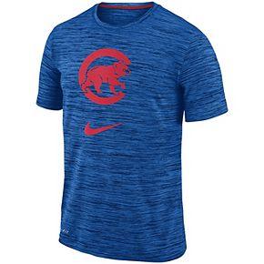 Men's Nike Royal Chicago Cubs Velocity Performance T-Shirt