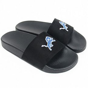Women's Cuce Detroit Lions Slide-On Sandals