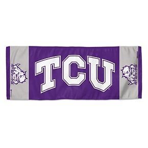 """WinCraft TCU Horned Frogs 12"""" x 30"""" Primary Double-Sided Cooling Towel"""