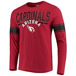 Men's Hands High Cardinal Arizona Cardinals Champion Slub Long Sleeve T-Shirt