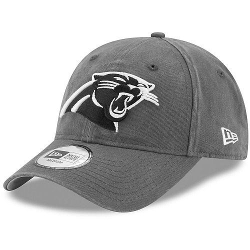 Men's New Era Charcoal Carolina Panthers Sagamore Relaxed 49FORTY Fitted Hat