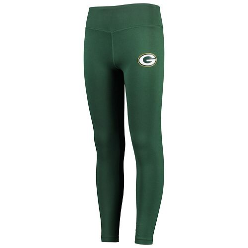 Girls Youth Green Green Bay Packers Classic Play Leggings