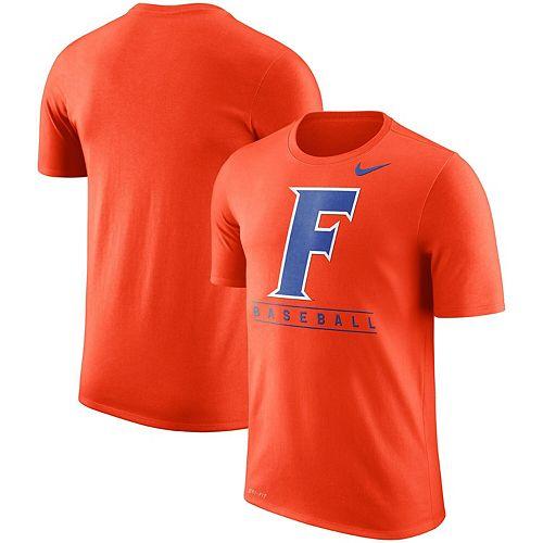 Men's Nike Orange Florida Gators Baseball Legend Team Issue Performance T-Shirt