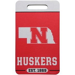 "WinCraft Nebraska Cornhuskers 10"" x 17"" Stadium Seat Cushion"