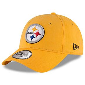 Men's New Era Gold Pittsburgh Steelers NE Core Fit 49FORTY Fitted Hat
