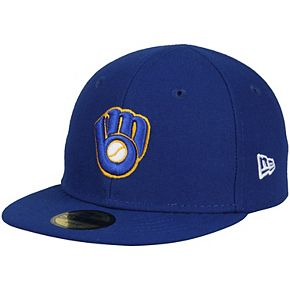 Infant New Era Royal Milwaukee Brewers Authentic Collection On-Field My First 59FIFTY Fitted Hat