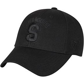 Men's Top of the World Black Syracuse Orange NCAA Dynasty Memory Fit Fitted Hat