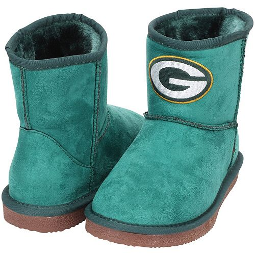 Women's Cuce Green Green Bay Packers The Rookie Mini Boots