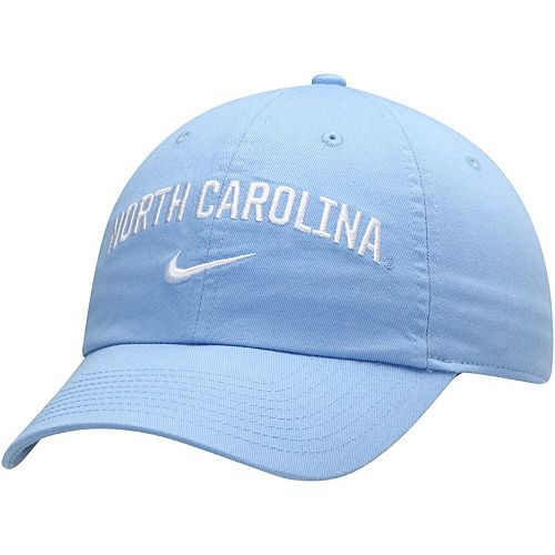Men's Nike Carolina Blue North Carolina Tar Heels Heritage 86 Arch Adjustable Performance Hat